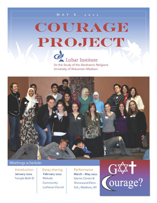 Courage Project booklet cover 2011