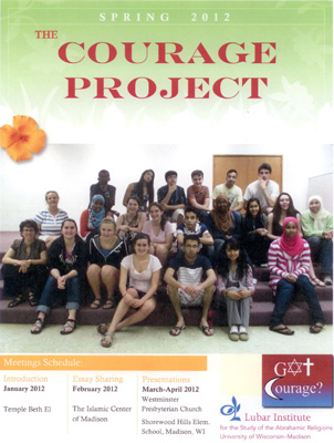 Courage Project booklet cover 2012