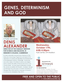 Alexander lecture poster