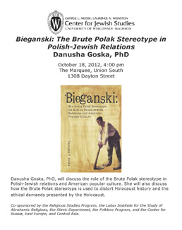 Goska lecture poster